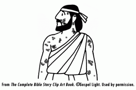 jesus heals ten lepers coloring page coloring home jesus heals ten lepers coloring page
