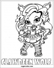 Monster High Is Thought Coloring Pages Monster High