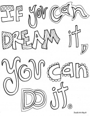 14 Pics of Quotes Coloring Pages Doodle Art Alley - Doodle Art ...