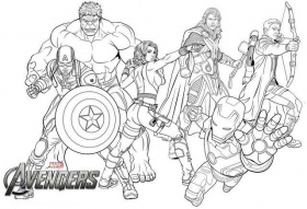 New Avengers Endgame Coloring Page for Marvel Fans | Avengers coloring pages,  Avengers coloring, Marvel coloring