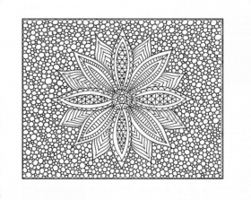 Printable Zentangle Coloring Pages For Adults – Coloring Pics