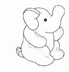 Elephant And Piggie Coloring Pages Printable Kids Colouring - coloring pages of elephant and piggie