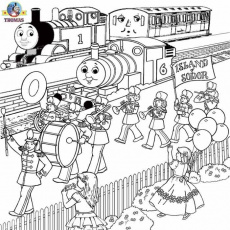 The Little Engine That Could Coloring Pages | Tookogie - Coloring Home