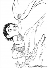 Moana for kids - Moana Kids Coloring Pages