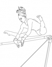 Gymnastics Coloring Pages - Best ...bestcoloringpagesforkids.com