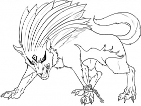 Winged Wolf Angel Coloring Pages | Cartoon Coloring Pages ...