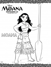 Moana Coloring Pages - Best Coloring Pages For Kids