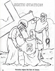 Catholic Coloring Pages Stations Of The Cross 10 | Free Printable