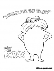 lorax coloring pages | lorax party