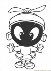 Coloring Pages Marvin De Martian (Cartoons > Others) - free