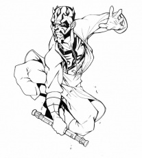 Darth Maul Coloring Pages | 99coloring.com