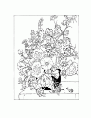 coloring pages - Flowers » Flowers (1040) - Flower