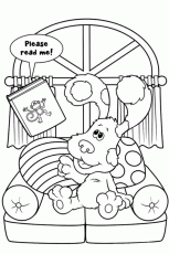 Blue S Clues Coloring Pages | download free printable coloring pages