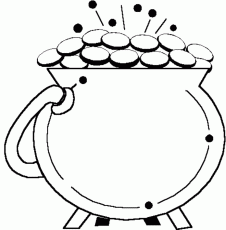 Leprechaun Playing Violin St Patrick Coloring Pages - Holiday