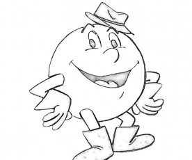 Pacman Coloring Pages Pacman Coloring Pages