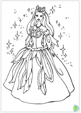 barbie swan lake coloring pages