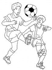 Related Pictures Soccer Player Free Printable Coloring Pages For