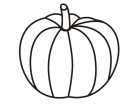 Halloween Crafts For Kids Plain Pumpkin Coloring Pages Printable