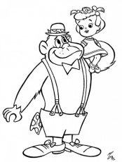 gorilla coloring pages winner - coloring home - Silverback Gorilla Coloring Pages