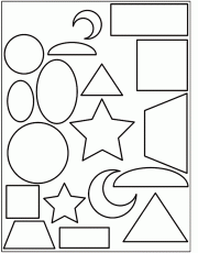Coloring Pages Of Shapes 143 | Free Printable Coloring Pages