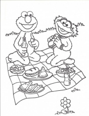 Picnic Coloring Page 271080 Picnic Coloring Pages For Kids
