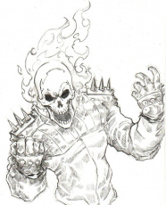 Ghost Rider Coloring Pages | Coloring Pages