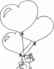 Happy Valentine's Day Coloring Page & Coloring Book