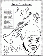 United States Black History Month Coloring Pages