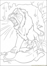 Coloring Pages Samsons Roar (Cartoons > The Wild) - free printable
