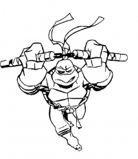 Ninja turtle coloring Free coloring pages, free printable Ninja
