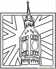 Great Britain Flag Colouring Pages (page 3)