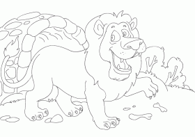 Free Coloring Pages for Kids | Animal Coloring Pages for Kids