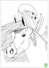 bella sara coloring pages to print