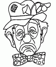 Clown Coloring Pages for Kids - Free Printable Clown Coloring