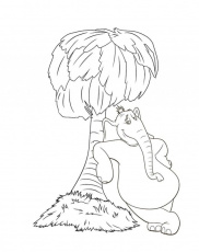 Horton Hears A Who Coloring Pages Coloring Pages Coloring Home