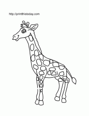 Free Printable Wild animals Coloring Pages (2) | Print This Today