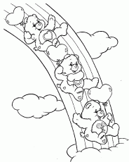 Care Bears Coloring Pages Free Printable Download | Coloring Pages Hub