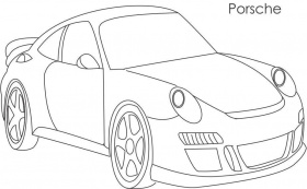 porsche coloring page coloring home. Cars Review. Best American Auto & Cars Review