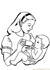 Printable baby coloring pages | coloring pages for kids, coloring