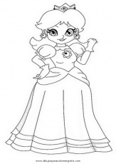 daisy de mario Colouring Pages