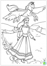 barbie and the magic of pegasus coloring pages