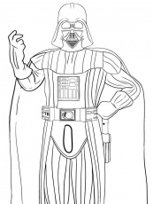 darth vader coloring pages for kids