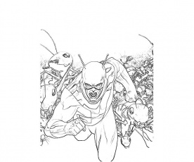 Free Printable Ant Man Coloring Pages Realistic Coloring Pages