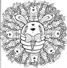 tokidoki coloring book holiday coloring pages tokidoki coloring pages donutella colouring pages