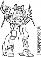 Transformers Coloring Pages Starscream ...pngkit.com