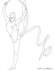 Printable Gymnastics Coloring Pages ...coloringtone.com