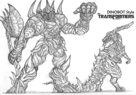 7 Pics of Transformers Dinobots Coloring Pages - Transformers 4 ...