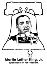 Martin Luther King Printable Coloring Pages | Free Coloring Pages