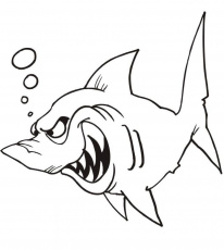 Fish Printable Coloring Pages - Coloring Page