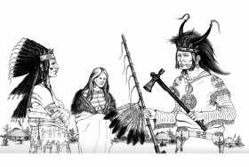 Native American - Coloring Pages for adults